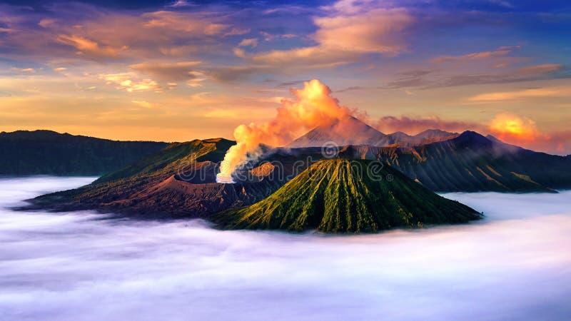 Volcan Gunung Bromo de Bromo de bâti photo libre de droits
