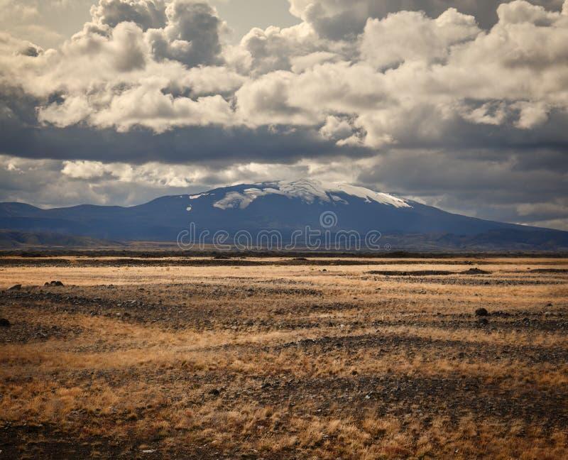 Volcan Hekla en Islande photo libre de droits
