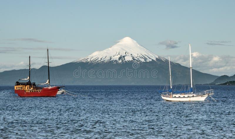 Volcan Osorno obrazy stock