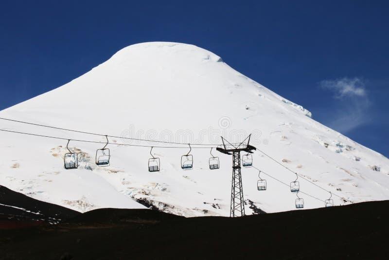 Volcan Osorno, o Chile imagens de stock