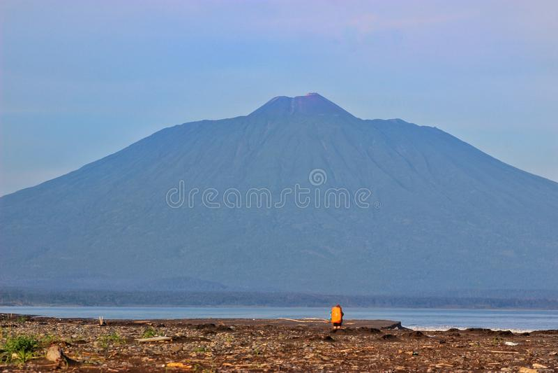 Volcan Tyatya photographie stock libre de droits