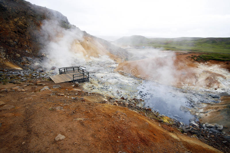 Download Volcanic activity stock photo. Image of activity, mudpot - 12633178