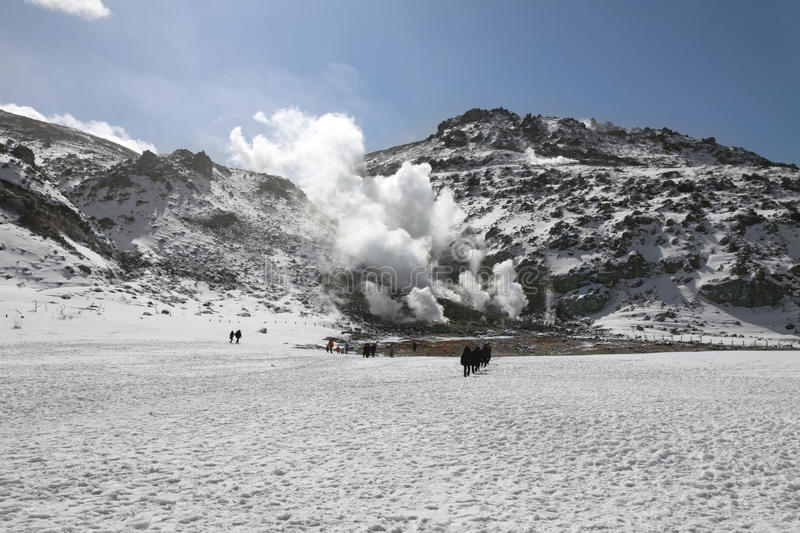 Download Volcanic Activity In Hokkaido, Japan Royalty Free Stock Image - Image: 18761526
