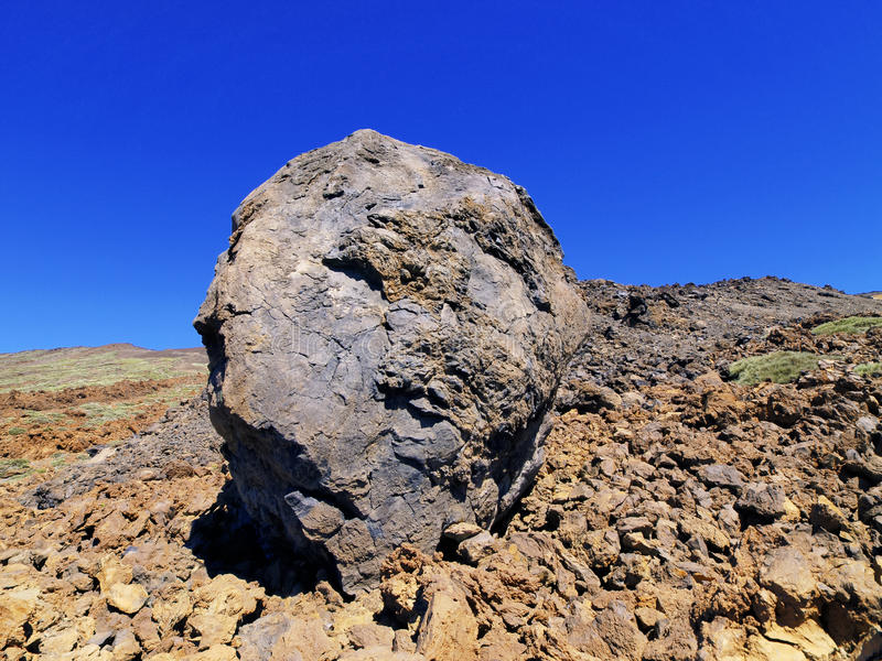 Download Volcanic Bomb stock image. Image of panorama, danger - 26206113
