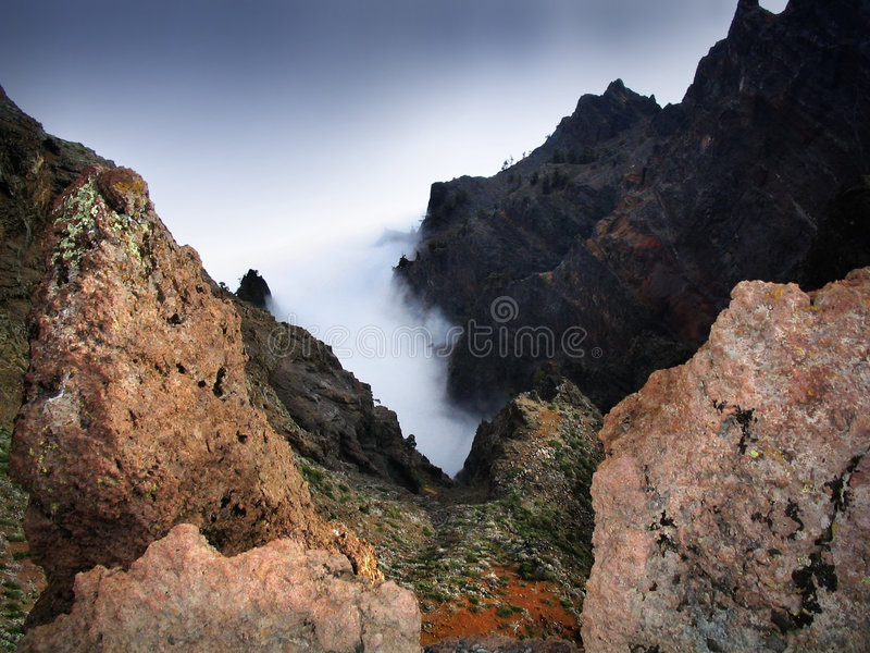 Volcanic Canary Island stock images