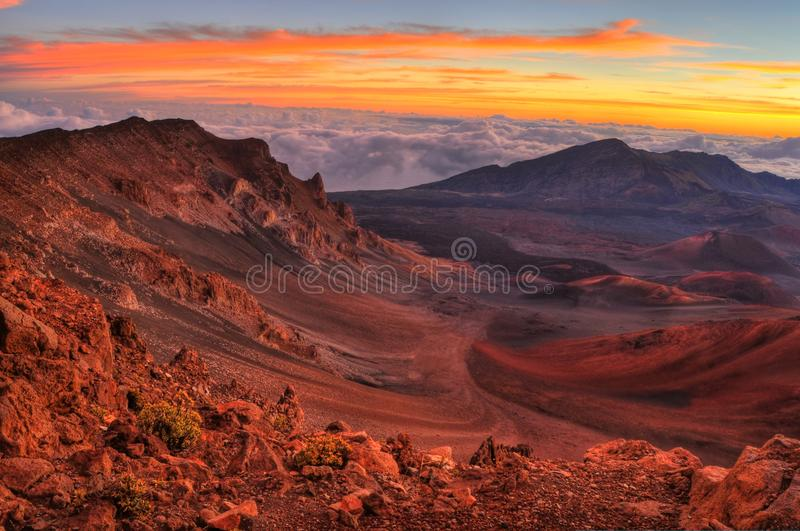 Download Volcanic Crater stock photo. Image of colorful, landscape - 18644292