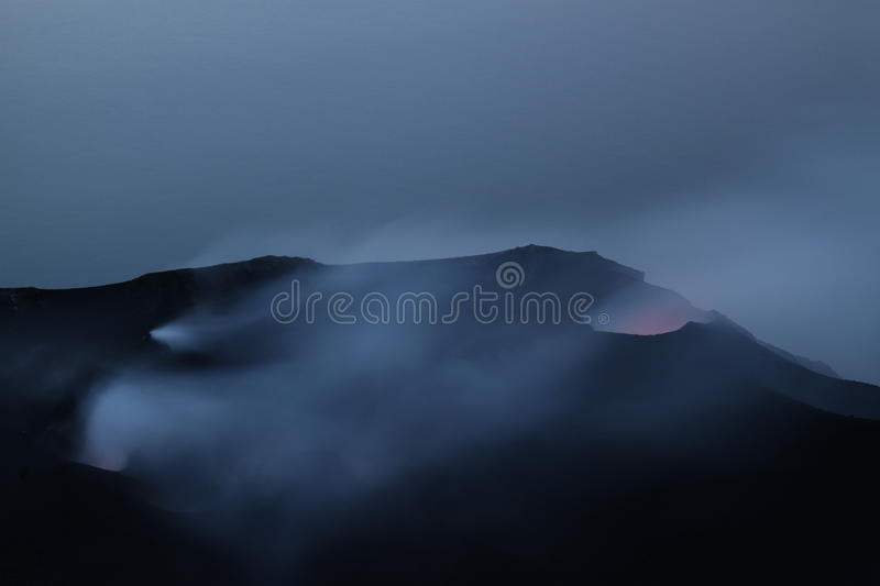 Download Volcanic Craters Of Stromboli Royalty Free Stock Images - Image: 16392719