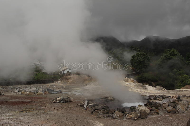 Download Volcanic Hot Spring On The Azores Stock Photo - Image: 24903668