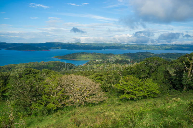 Arenal landscape royalty free stock photography