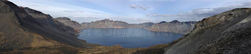 Download Volcanic lake, stock photo. Image of environment, land - 13761016