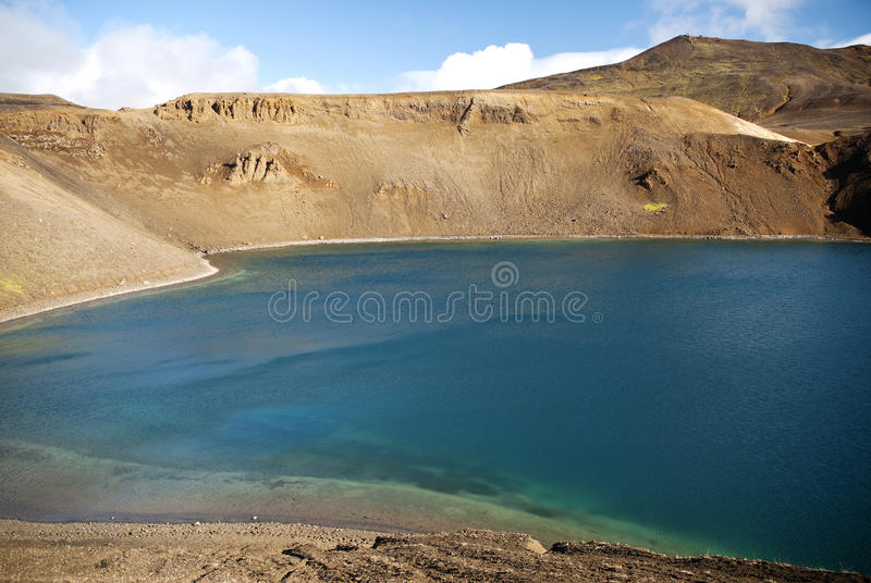Download Volcanic lake in iceland stock photo. Image of landscape - 19728420