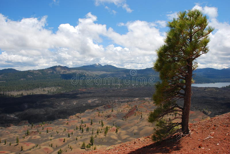 Download Volcanic Landscape stock photo. Image of lake, vulcan - 9956164