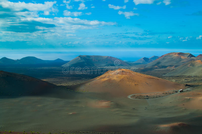 Download Volcanic Landscape From Lanzarote Island, Spain. Stock Photo - Image: 29175866