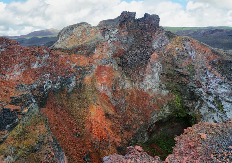 Download Volcanic Landscape, Sierra Negra, Galapagos. Stock Image - Image: 41072567