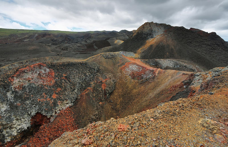 Download Volcanic Landscape, Sierra Negra, Galapagos. Stock Image - Image: 41072581