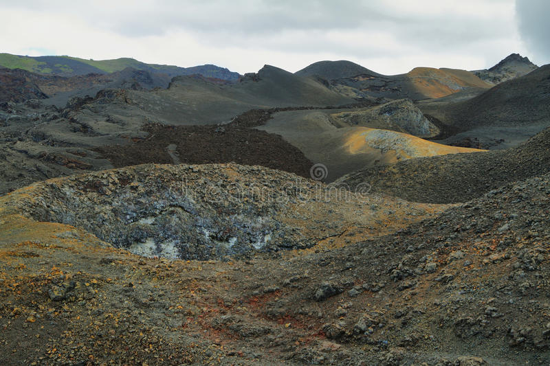 Download Volcanic Landscape, Sierra Negra, Galapagos. Stock Photo - Image: 41072600