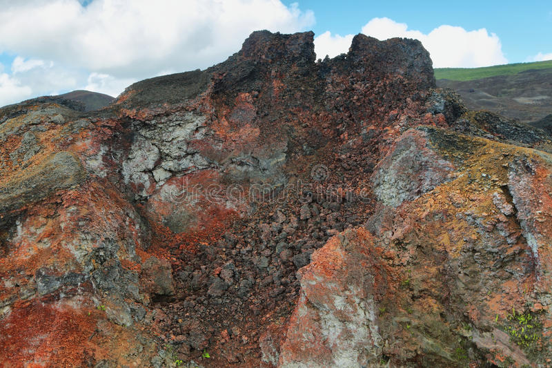 Download Volcanic Landscape, Sierra Negra, Galapagos. Stock Photo - Image: 41072664