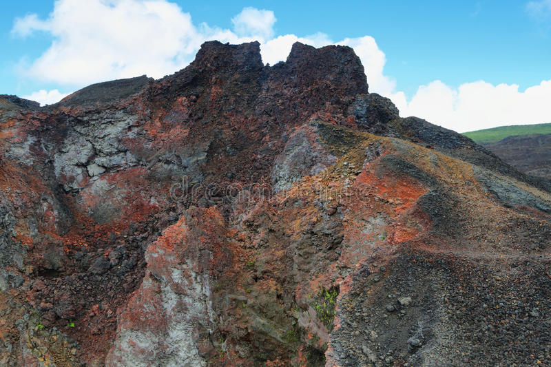 Download Volcanic Landscape, Sierra Negra, Galapagos. Stock Photo - Image: 41072686