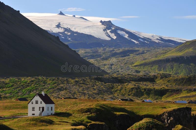 Volcanic landscapes of Iceland stock image