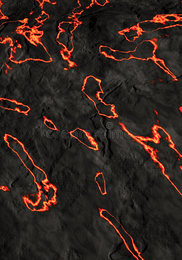 Download Volcanic lava stock illustration. Illustration of volcano - 19140657