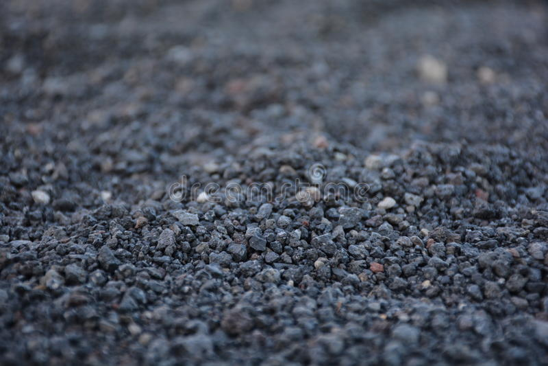 Volcanic sand stock photo