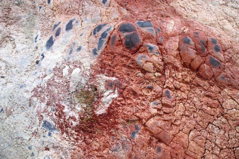 Volcanic soil royalty free stock photos