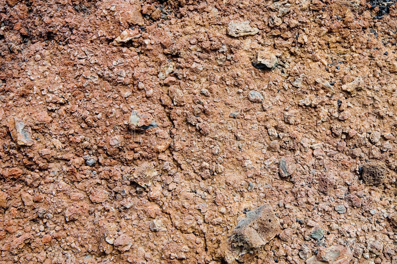 Volcanic soil royalty free stock images