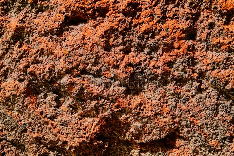 Volcanic stone texture colorful background stock image
