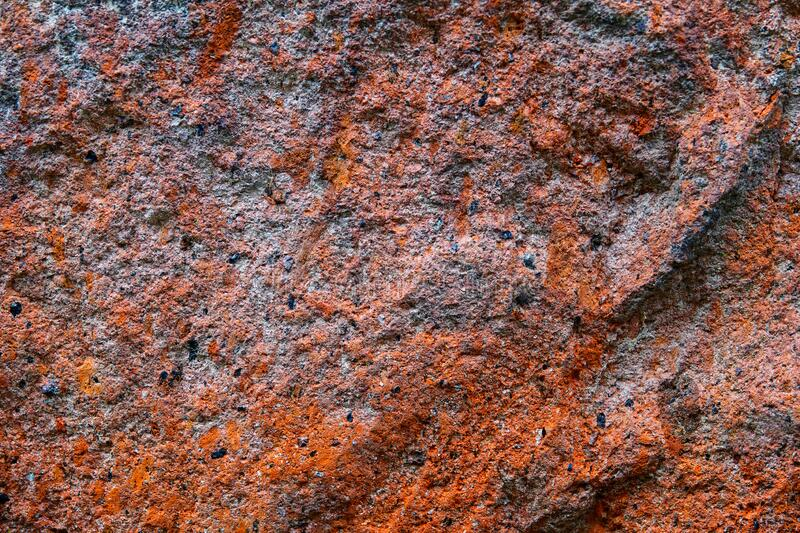Volcanic stone texture colorful background stock photo