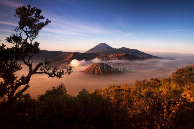 Volcano. Mount Bromo volcanoes taken in Tengger Caldera, East Java, Indonesia stock photos