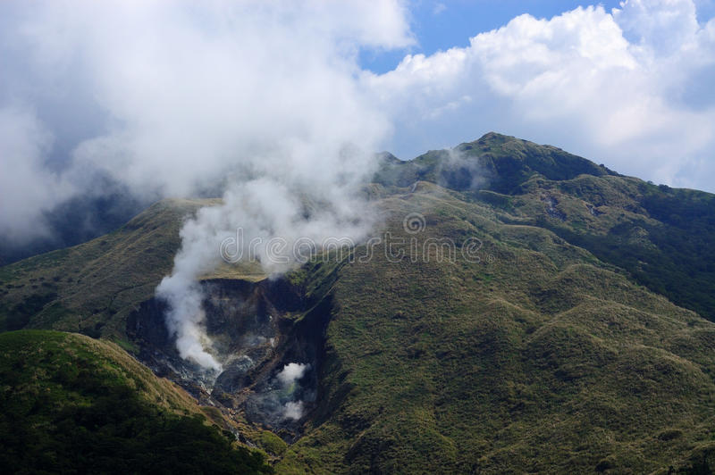 Download Volcano editorial image. Image of volcano, white, active - 12264720