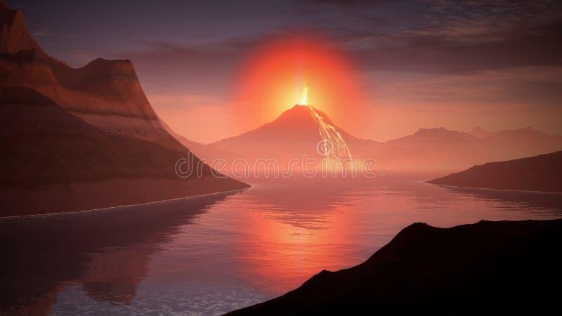 Volcano-1728164 Free Public Domain Cc0 Image