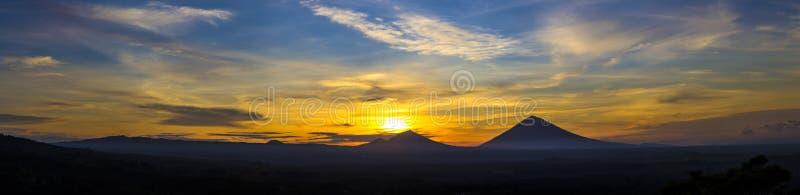 Volcano Agung fotografia stock libera da diritti