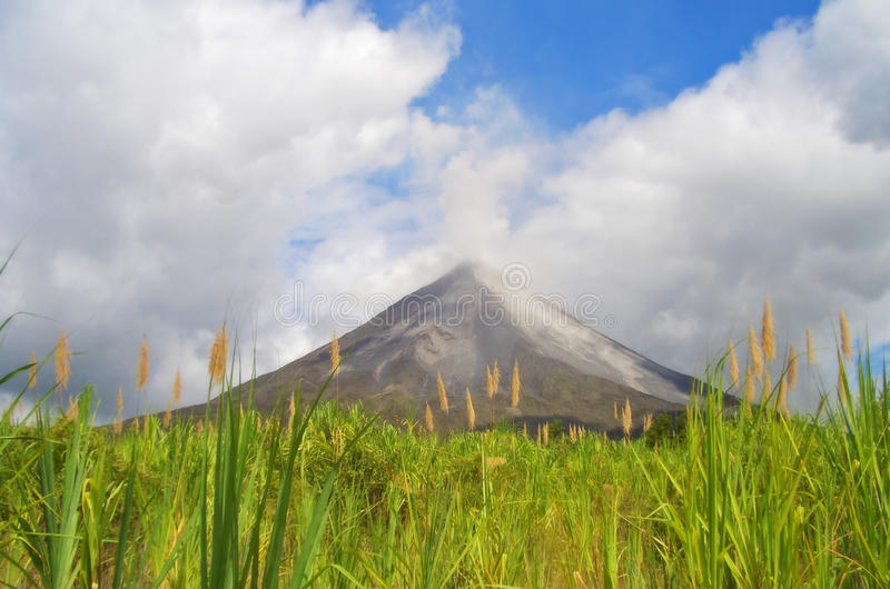 Volcano Arenal. The active volcano Arenal (Costa Rica stock photography