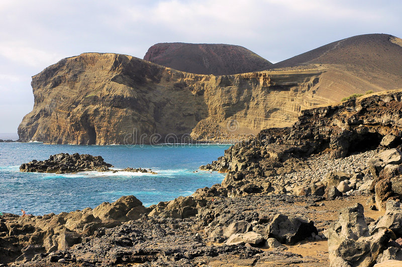 Volcano at Azores royalty free stock images