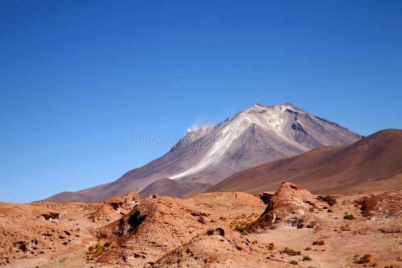 Uturuncu Volcano, Bolivia stock photography