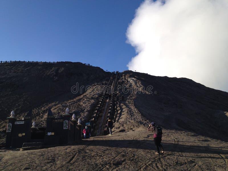 Volcano Bromo Indonesia arkivfoton