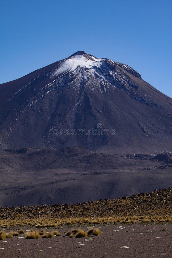 Volcano Chile imagem de stock
