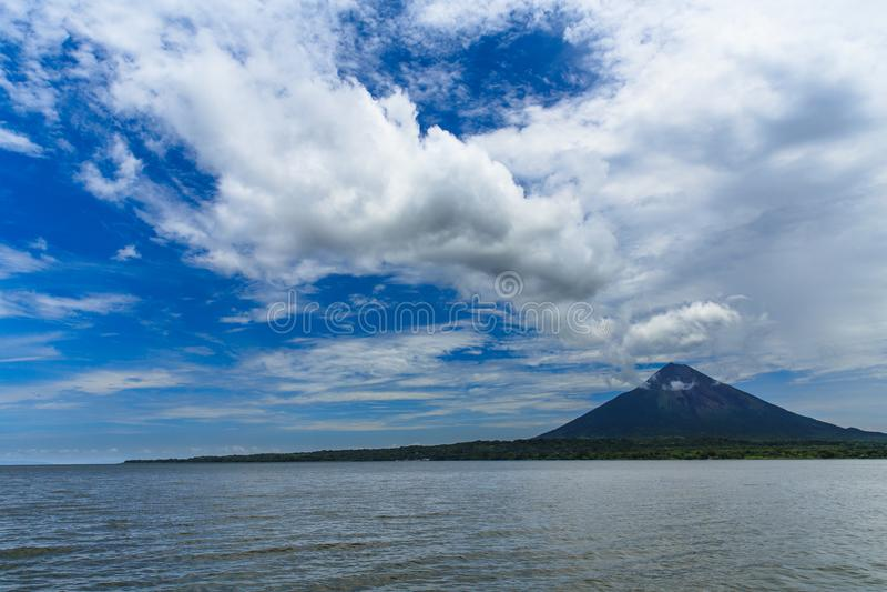 Volcano Concepcion, Nicaragua royalty-vrije stock fotografie