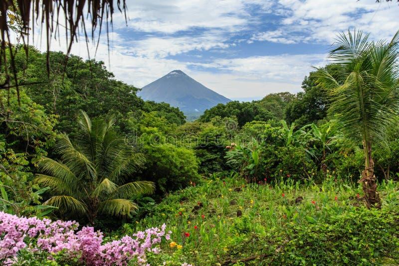 Volcano Concepcion, Nicaragua royalty free stock image