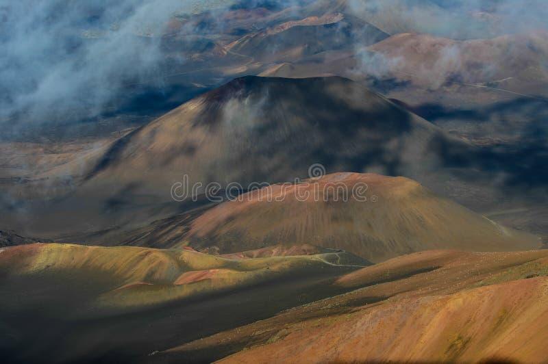 Volcano Crater imagens de stock