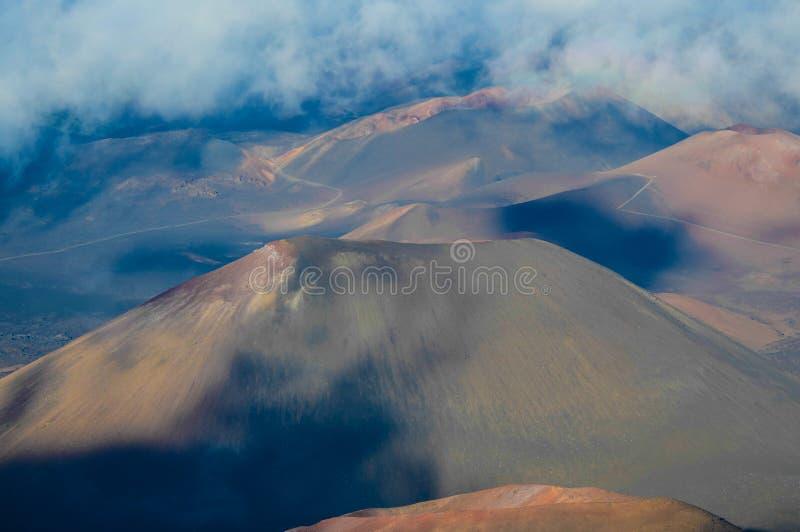 Volcano Crater imagem de stock royalty free