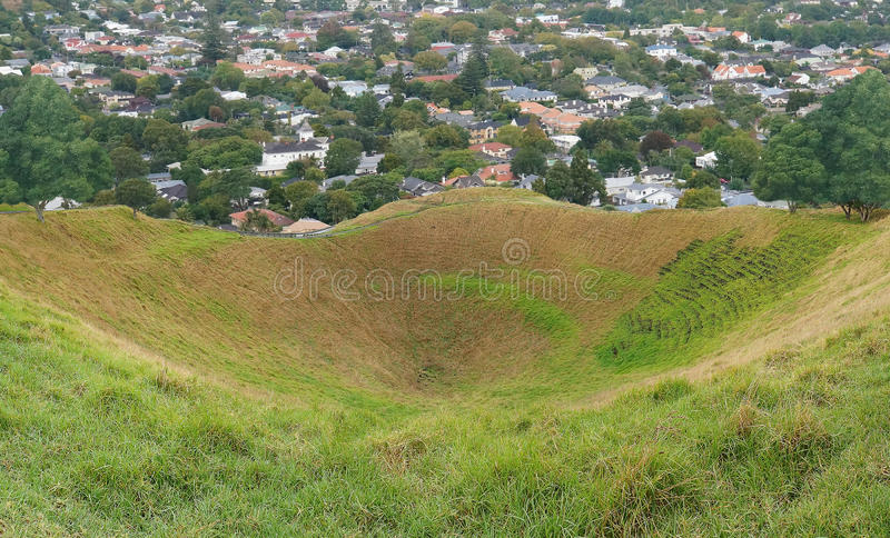 Download Volcano Crater stock photo. Image of auckland, nature - 30699556