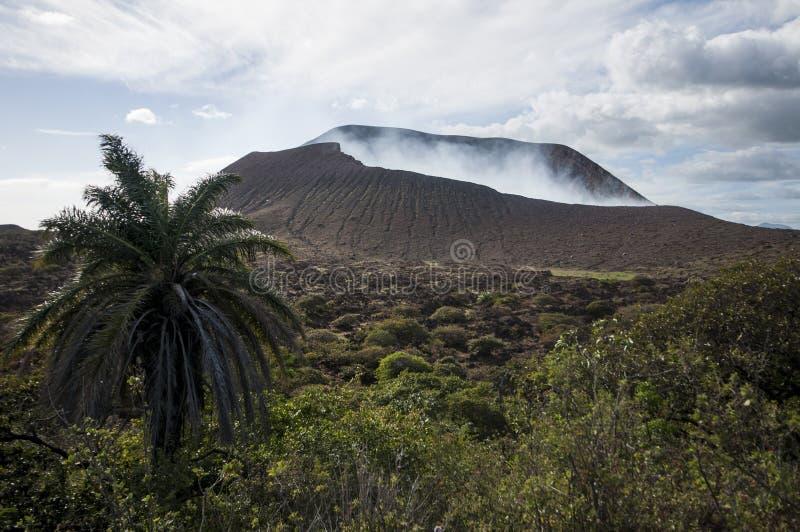 Volcano Crater, Telica, Nicaragua photos libres de droits