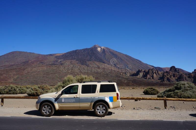 Volcano de Teide em março de 2019 foto de stock