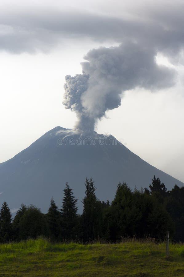 Download Volcano Eruption stock image. Image of dark, dangerous - 16988929