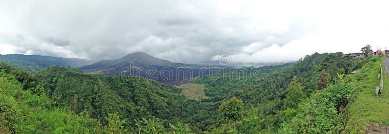 Volcano Gunung batur _ Indonesien royaltyfri foto