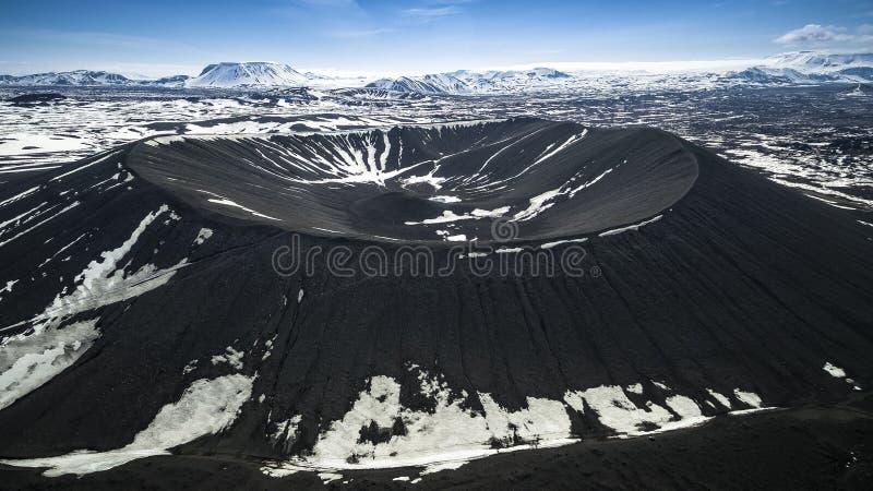 Volcano Iceland fotografia stock libera da diritti