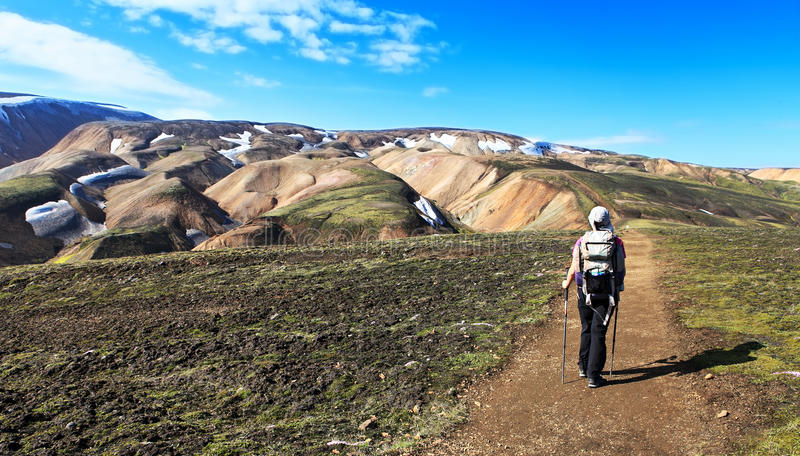Download Volcano stock image. Image of travel, camping, iceland - 33431407