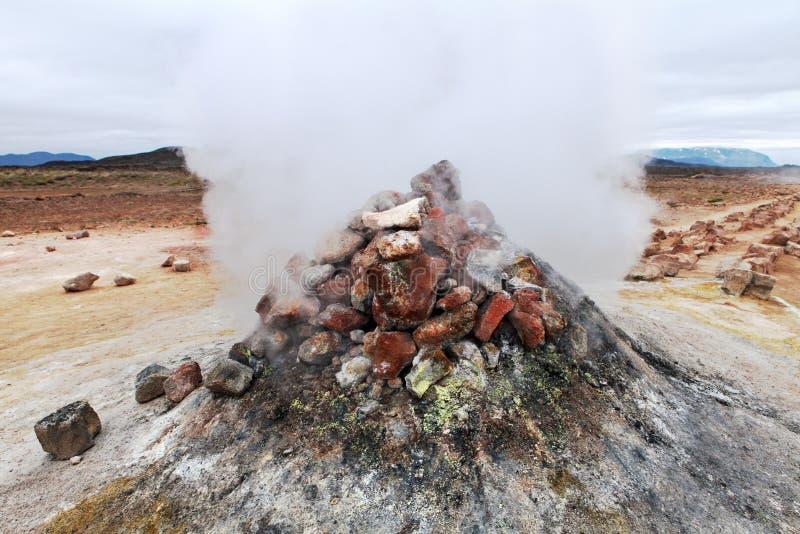 Download Volcano stock image. Image of hiker, disaster, landmannalaugar - 33432681